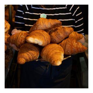 It's a new dawn It's a new day It's a new croissant  FOR ME And I'm feeling good  #morning #goodmorning #pastry #croissant #loveme #coffeesbestfriend #bakerytlv