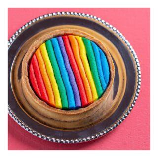Pride & Joy  טארטלט גאווה - חמישי שישי בחנויות למשך חודש יוני ובשיתוף @hoshen.il   #happypridemonth #joy #bakerytlv